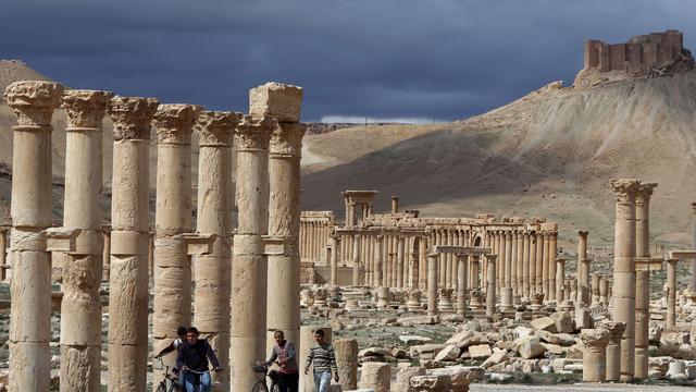 Rutte vreest voor kunstschatten Palmyra