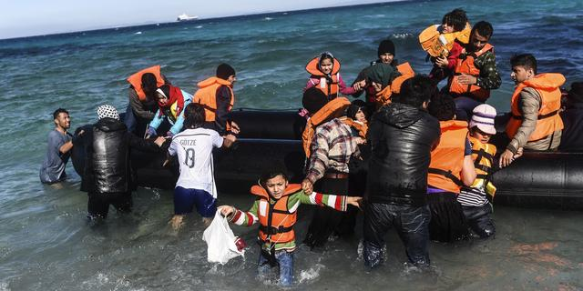 Vluchtelingenstroom vanuit Turkije neemt nog steeds niet af