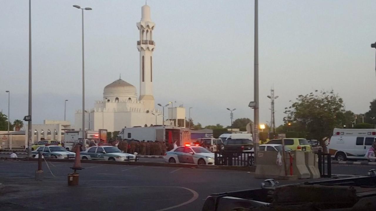 Man blaast zich op bij consulaat VS in Saudi-Arabië
