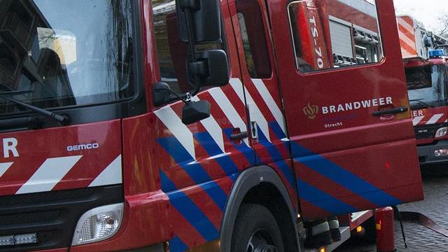 Brandweer rukt uit voor brand in woning aan Kraaienhorst in Alphen