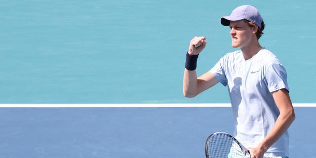 Toptalent Sinner treft dubbelpartner Hurkacz in finale Masters-toernooi Miami