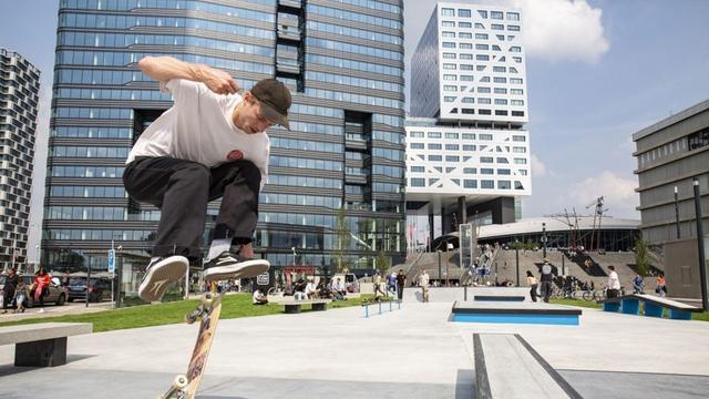 Openingsfeest skatepark Jaarbeursplein wordt zaterdag opnieuw gevierd