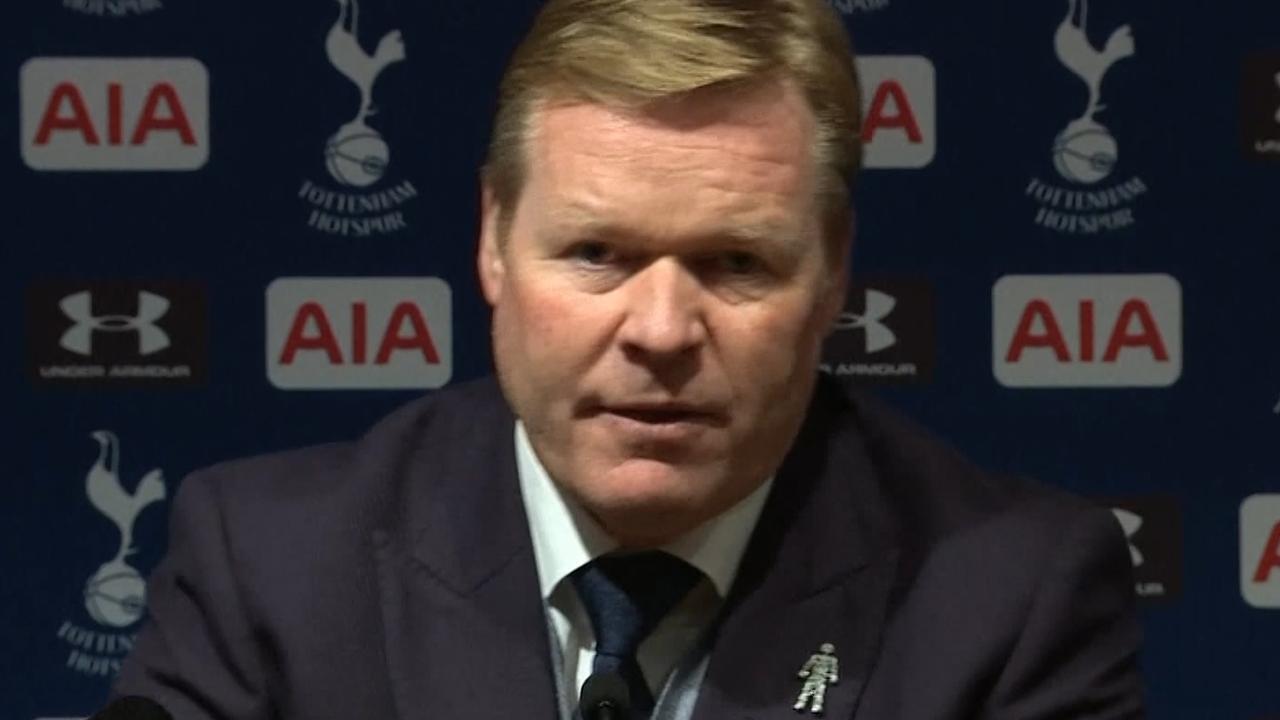 Koeman: 'We hebben terecht verloren van Tottenham'