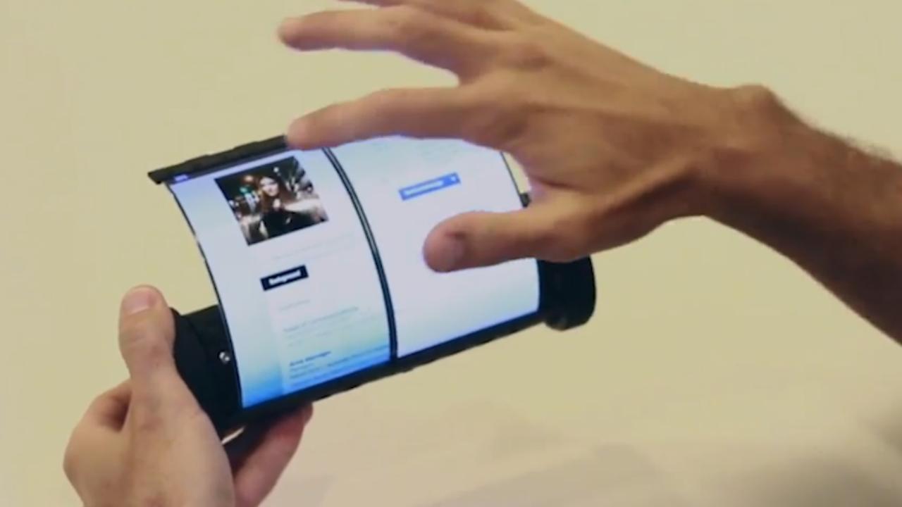 Nederlander ontwikkelt oprolbare tablet van 7,5 inch