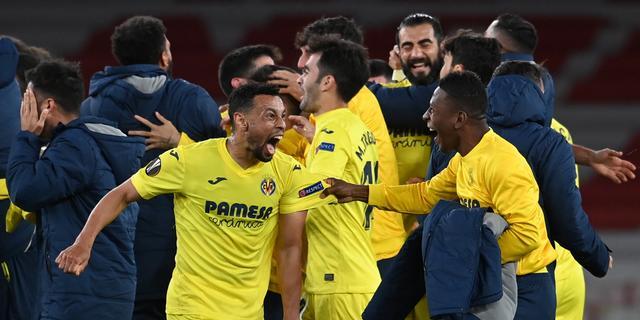 Villarreal en Manchester United plaatsen zich voor finale van Europa League