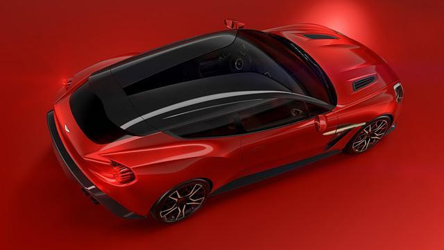 Aston Martin geeft beelden vrij van Vanquish Zagato Shooting Brake