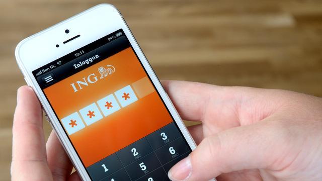 Mobiel bankieren bij ING korte tijd niet mogelijk door storing app