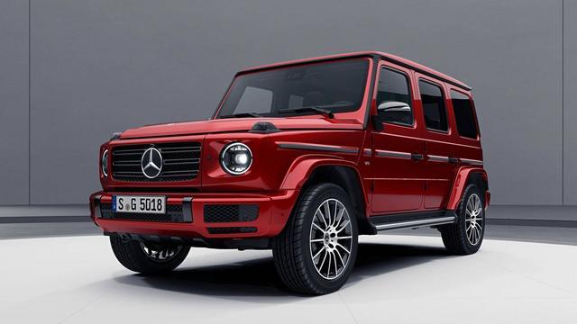 Prijs nieuwe Mercedes G-Klasse bekend