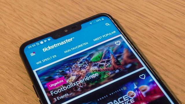 Kaartverkoop Ticketmaster lag kort plat door storing in betaalplatform