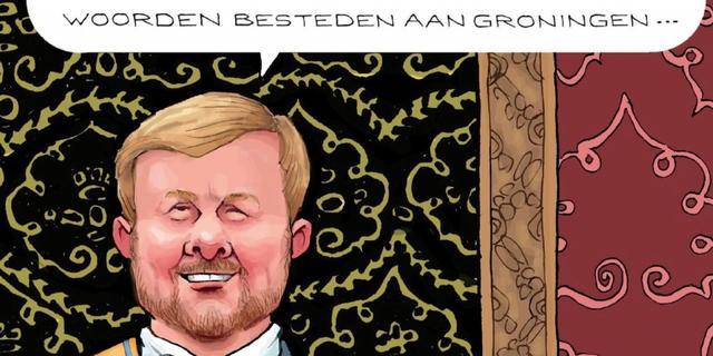 Groninger Bodem Beweging verspreidt 125.000 kaarten voor de koning