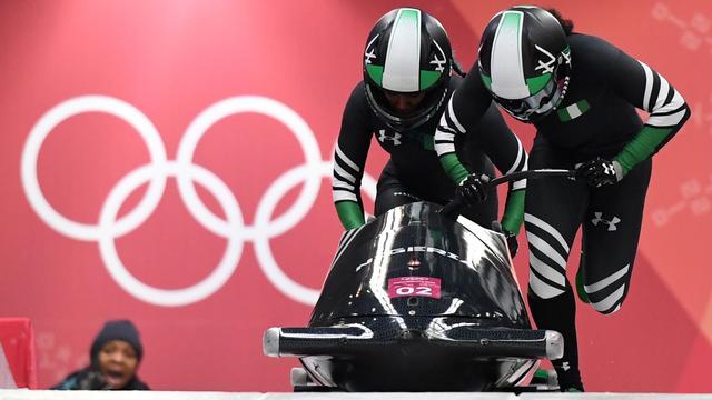 Nigeriaanse bobsleesters merken dat ze elke dag progressie boeken