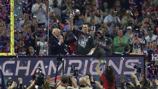 New England Patriots wint Super Bowl in verlenging