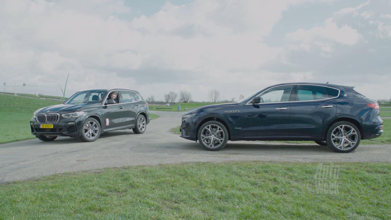 Eerste dubbeltest: BMW X5 tegen de Maserati Levante