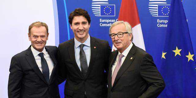 EU en Canada ondertekenen vrijhandelsverdrag CETA