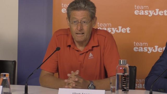 Team Easyjet-coach Anema: 'Ik ben zo trots als een aap'