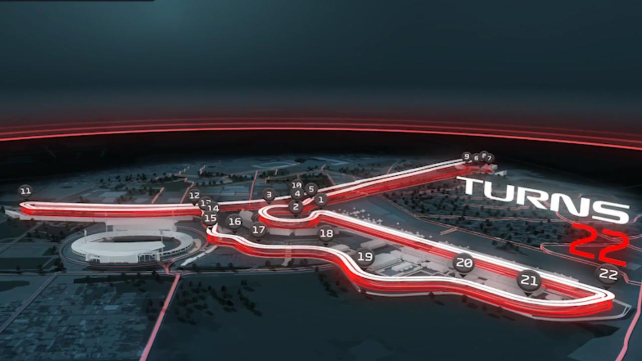 Vanaf 2020 Grand Prix in Vietnam: Zo komt de baan eruit te zien