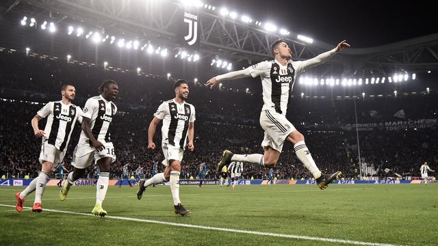 Ronaldo: 'Voor dit soort magische avonden heeft Juventus me gekocht'
