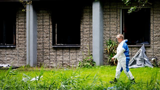 Man aangehouden voor brand in Diemen
