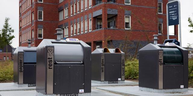 Leidenaren kunnen sleutel van eigen afvalcontainer krijgen