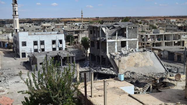 Rusland begonnen met luchtaanvallen in Syrië