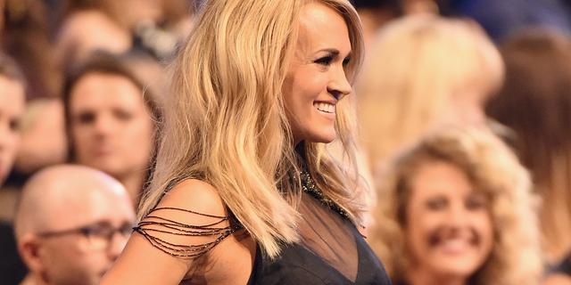 Carrie Underwood kreeg na val van trap zeker veertig hechtingen in gezicht