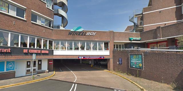 De Winkelhof in Leiderdorp geheel ontruimd wegens gaslucht