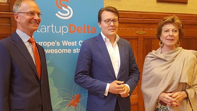 Prins Constantijn volgt Neelie Kroes op als ambassadeur voor startups