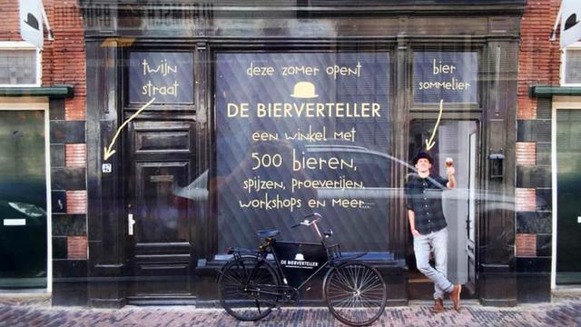 De Bierverteller opent bierwinkel in de Twijnstraat