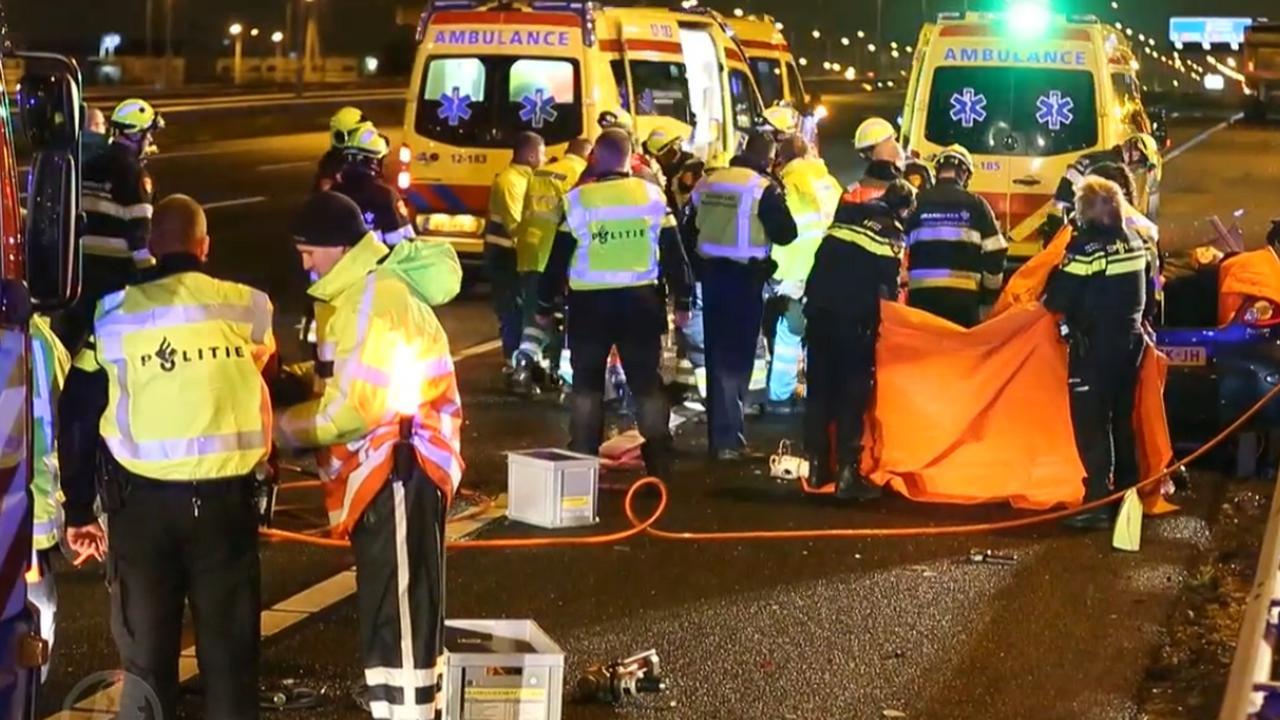 Dodelijk ongeluk A4 bij Hoofddorp