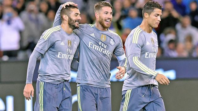 Real Madrid veel te sterk voor Manchester City