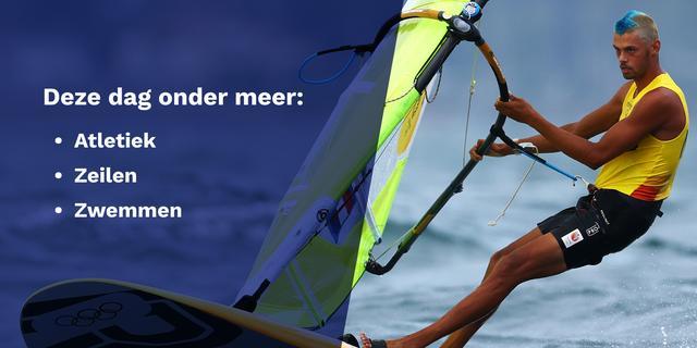 Olympisch programma 31 juli: deze Nederlanders komen in actie