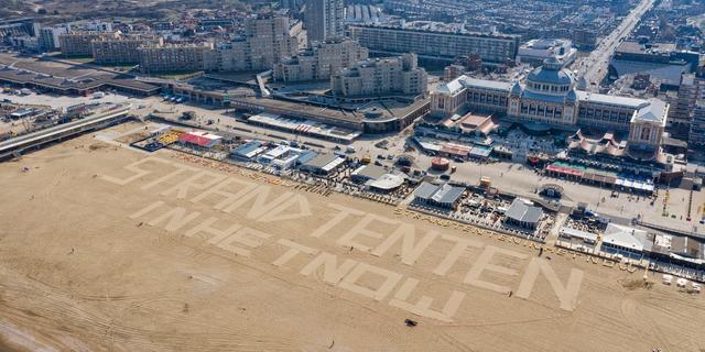 'Horeca op strand Den Haag gaat woensdag weer van start'