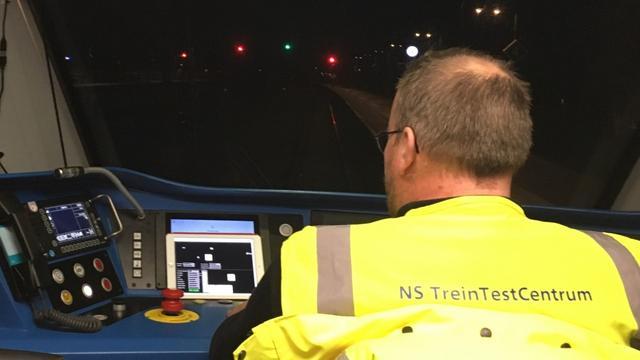 NS: Eerste experiment met zelfrijdende trein is geslaagd