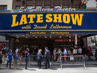 67-jarige Letterman maakte 6.028 uitzendingen