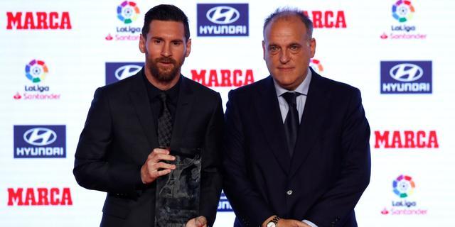 La Liga-baas Tebas weet zeker dat voetbalseizoen wordt afgemaakt