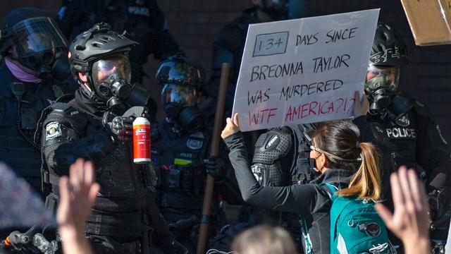 Tientallen arrestaties bij Black Lives Matter-demonstratie in Seattle
