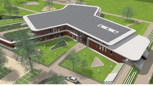 Onderwijs- en sportcomplex Oud Gastel krijgt vorm