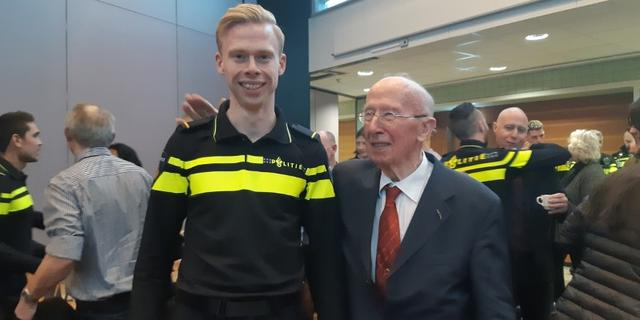 Markante Rotterdamse oud-hoofdcommissaris Jan Blaauw (92) overleden