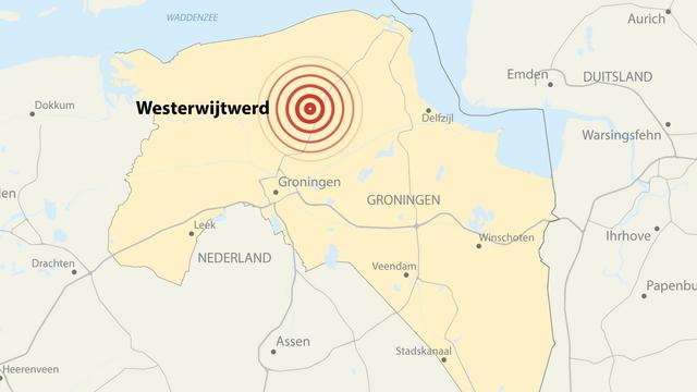 Bijna tweeduizend schademeldingen door beving in Groningen