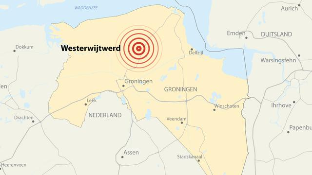 Groningen opgeschrikt door aardbeving met magnitude van 3.4