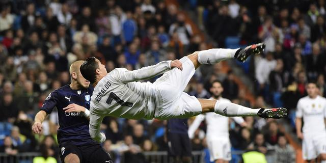 Ronaldo prijst 'fantastisch' Real Madrid na recordavond