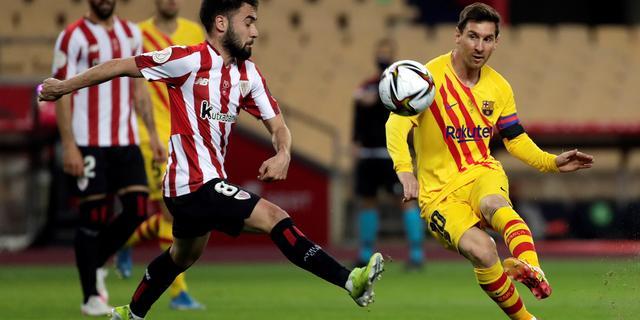 Koemans Barcelona jaagt op voorsprong in bekerfinale