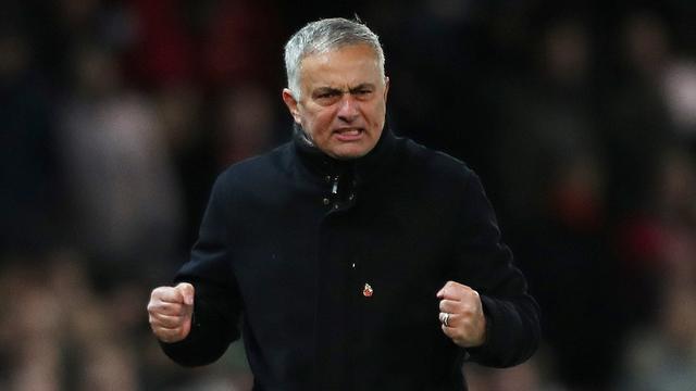 Mourinho: 'Wie niet in top vier staat, moet niet over titel praten'