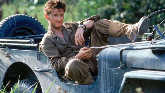 Sean Penn in Thin Red Line