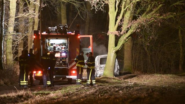 Dode gevonden in uitgebrande auto Tilburg