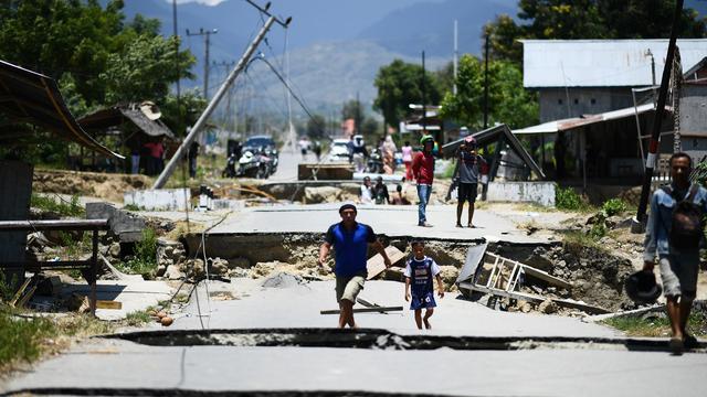 Dodental na aardbeving en tsunami Sulawesi stijgt naar 1.234