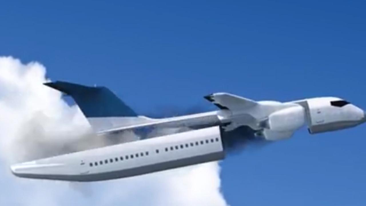 Vliegtuig met afneembare cabine moet passagiers redden bij noodgeval nu het laatste nieuws - Vliegtuig badkamer m ...