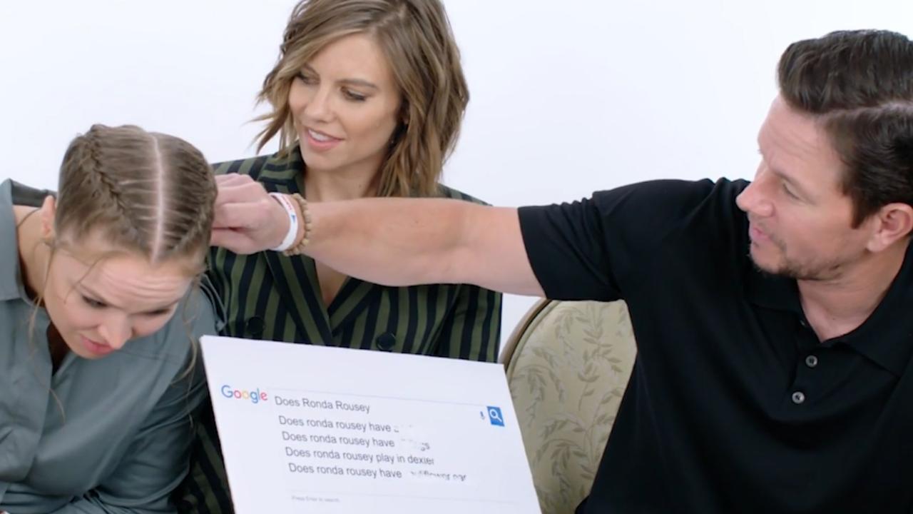 Mark Wahlberg en Ronda Rousey over bloemkooloren en diëten