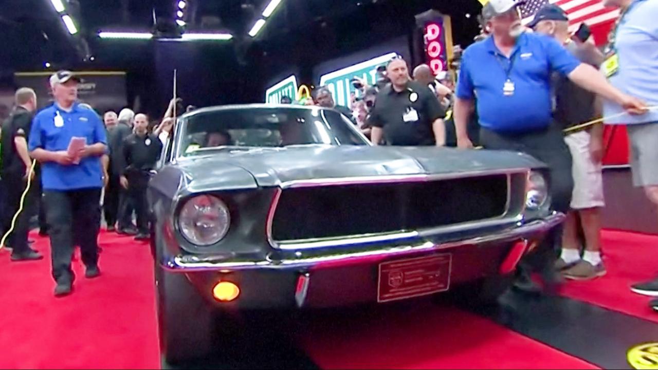 Ford Mustang uit Hollywoodklassieker voor 3 miljoen euro geveild