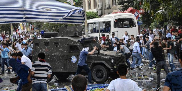 Nederlandse Koerden boos over 'aanslag' Turkije